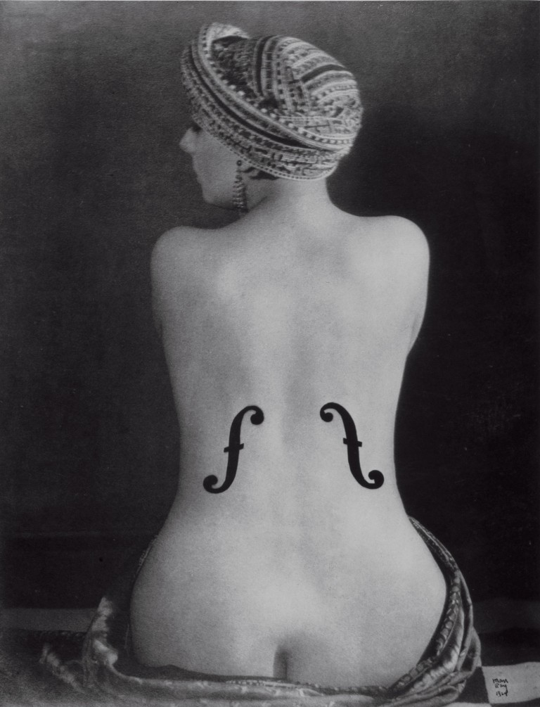 Man Ray Kiki, Violon d'ingres, 1924